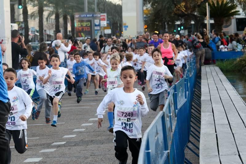מתחילים בקן. מיני מרתון לילדים|צילום: רונן טופלברג