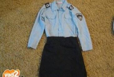ביקוש לתחפושות של שוטרים
