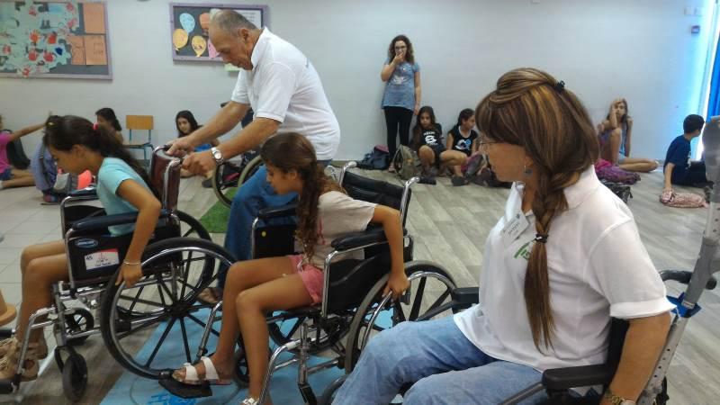 חוויה מעצימה. בתמונה: הילדים  במהלך הפעילות |צילום: נגישות ישראל צפון