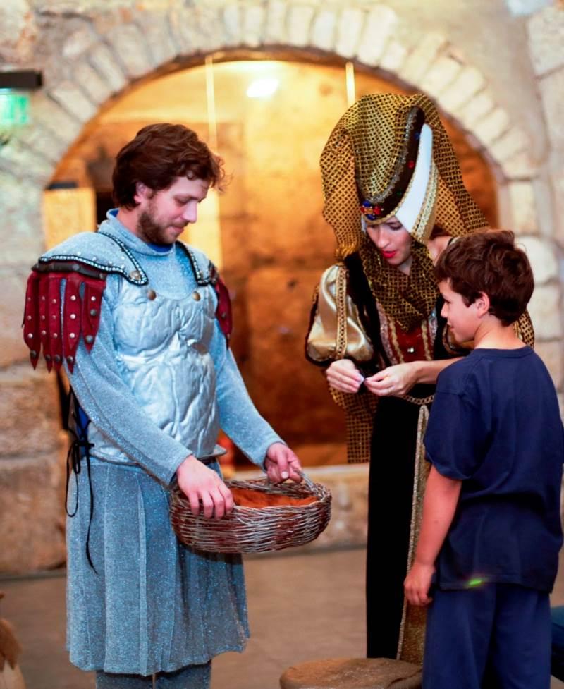 מסלול האבירים במגדל דוד|צילום: עידו כהן